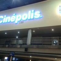 Photo taken at Cinépolis by Joseph G. on 7/31/2012