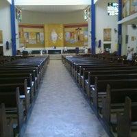 Photo taken at Igreja Sao Judas Tadeu by Eduardo V. on 3/18/2012
