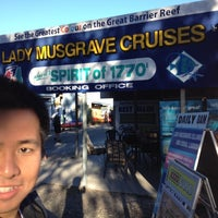 Photo taken at Lady Musgrave Cruises by Kenny S. on 7/2/2012