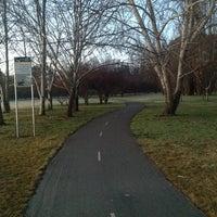 Photo taken at Telopea Park by Mark R. on 8/18/2012