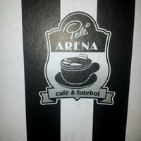 Photo taken at Pelé Arena Futebol & Café by Marcia d. on 8/9/2012