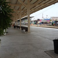 Photo taken at Sisaket Railway Station (SRT2273) by Karipet I. on 3/25/2012