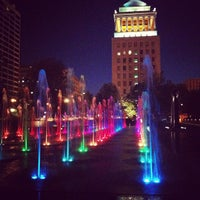 Photo taken at Citygarden by Jeremy S. on 8/16/2012