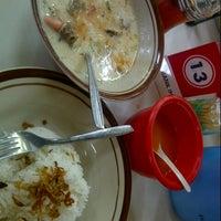 Photo taken at Soto Betawi Bang Ipin by thalithaa on 9/8/2012