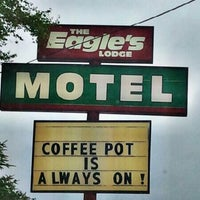 Photo taken at The Eagles Lodge Motel by Jim L. on 6/27/2012