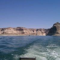 Photo taken at Wahweap Marina, Lake Powell by Nichole O. on 6/23/2012