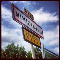 Photo taken at Mimizan-Plage by Milie P. on 7/28/2012