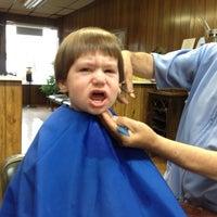 Photo taken at Sal's Barber Shop by Dennis Y. on 6/26/2012