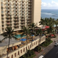Photo Taken At Waikiki Beach Marriott Resort Amp Spa By Aldren M
