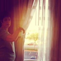 Photo taken at Holiday Inn Express & Suites St. Petersburg North (I-275) by Breezy K. on 3/10/2012