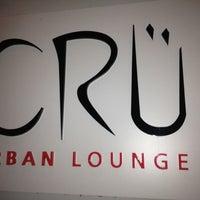 Photo taken at Cru Urban Lounge by Carlton M. on 8/12/2012
