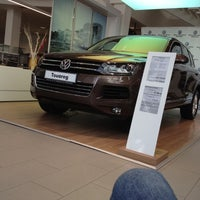 Photo taken at Volkswagen Центр Варшавка by Scirocco С. on 3/3/2012