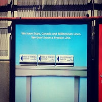 Photo taken at Stadium - Chinatown SkyTrain Station by Donna J. on 7/31/2012