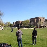 Photo taken at Northeastern Illinois University (NEIU) by Jules W. on 4/20/2012