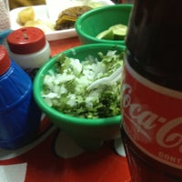 Photo taken at Tacos Roman by Manu V. on 3/26/2012