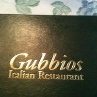 Photo taken at Gubbio's Italian Restaurant by Chris B. on 4/1/2012