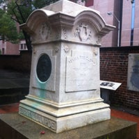 Photo taken at Grave of Edgar Allan Poe by joezuc on 7/21/2012