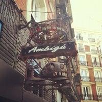 Photo taken at Ambigú Bar by Kyle B. on 5/27/2012