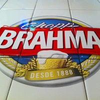 Photo taken at Quiosque da Brahma by Maria Clara A. on 6/22/2012