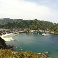 Photo taken at 諸寄海岸 by Kazuto T. on 4/29/2012