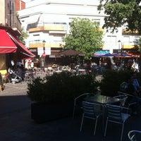 Photo taken at Plaça de l'Estació de Sant Cugat by Raúl M. on 5/11/2012