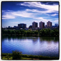 Photo Taken At Hyatt Regency Cambridge Overlooking Boston By Michael V On 9