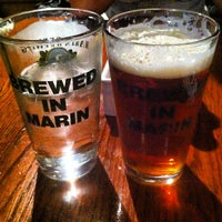 Photo taken at Marin Brewing Company by Brent B. on 8/12/2012