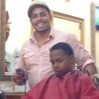 Photo taken at Levels Barbershop by Jennifer on 7/26/2012