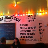 Photo taken at Great Jones Cafe by Keith M. on 7/31/2012
