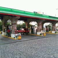 Photo taken at Pemex gasolinera Gutierrez by CENTRO DE SERVICIO AUTOMOTRIZ B. on 5/20/2012