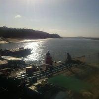 Photo taken at Bang Rong Pier by Jiroj V. on 2/13/2012