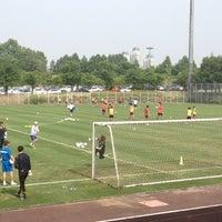 Photo taken at 대전월드컵경기장 보조경기장 by Kim J. on 6/7/2012
