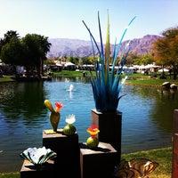 Photo taken at La Quinta Civic Center Park by Jim L. on 3/9/2012