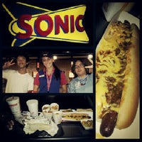 Photo taken at SONIC Drive In by Adithya N. on 8/7/2012