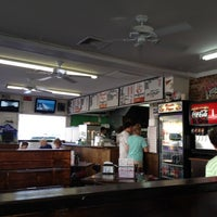 Photo taken at Basil's Pizza by Rich on 7/25/2012