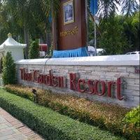Photo taken at Thai Garden Resort by Parvit C. on 8/13/2012