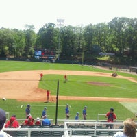 Photo taken at Foley Field by Delaney L. on 4/1/2012