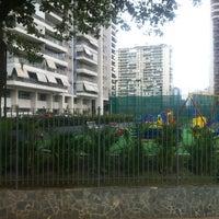 Photo taken at Parque das Rosas by Denise on 7/19/2012
