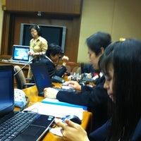 Photo taken at ห้อง 206 อาคารรัฐสภา 2 by 🐣jibjib on 5/22/2012