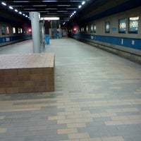 Photo taken at Churchill LRT Station by Don P. on 5/8/2012