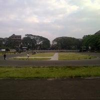 Photo taken at Saparua Running Track by ugun g. on 7/29/2012
