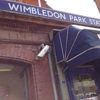 Photo taken at Wimbledon Park London Underground Station by onezerohero on 7/30/2012