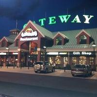 Photo taken at Gateway Travel Plaza by Jeremy S. on 5/4/2012