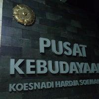 Photo taken at Pusat Kebudayaan Koesnadi Hardjasoemantri (Purna Budaya) UGM by Suryo H. on 7/7/2012