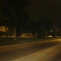 Photo taken at Parque Gonzales Prada by Eduardo T. on 5/3/2012