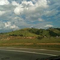 Photo taken at Rodovia Governador Carvalho Pinto by Miriam T. on 2/22/2012