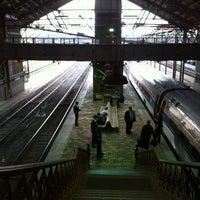 Photo taken at Amtrak: Harrisburg Transportation Center (HAR) by Dan 4. on 3/15/2012