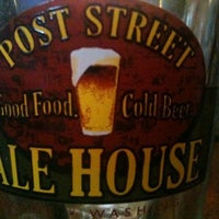 Photo taken at Post Street Ale House by Patrick B. on 3/15/2012