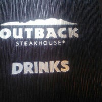 Photo taken at Outback Steakhouse by Karried A. on 6/3/2012
