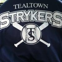 Photo taken at Tealtown Baseball Fields by Rhonda U. on 3/15/2012